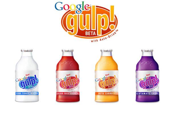 Google Gulp Prank